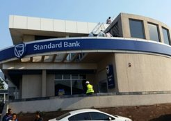 Standard Bank underpinning foundations